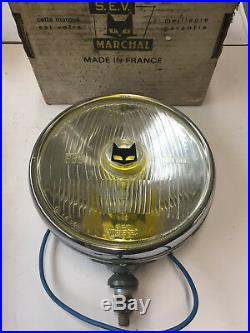 Phare / Projecteur Longue Portee Marchal 889 Iode H3 Glace Blanche Neuf